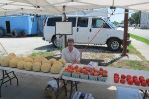 Produce Stand Jerry Bush